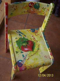 Malen, Stuhl, Holz, Kunsthandwerk