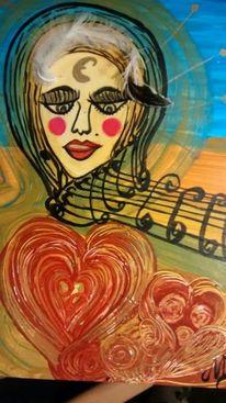 Malerei, Gesang