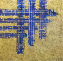 Acrylmalerei, Kopp, Malerei, Abstrakt