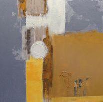 Acrylmalerei, Malerei, Abbild, Abstrakt