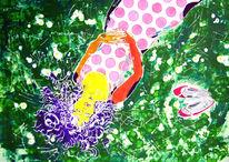Blumen, Spiegelung, Farben, Wunderschön