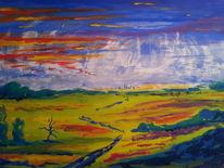 Temperamalerei, Aquarellmalerei, Gouachemalerei, Malerei