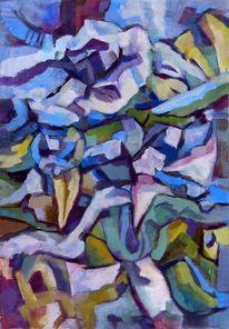 Kubismus, Farben, Formen, Malerei