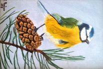 Ölmalerei, Landschaft, Stillleben, Tiere