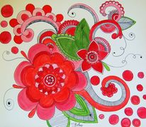 Figural, Acrylmalerei, Malerei, Mandala