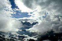 Berge, Fotografie, Wolken, Landschaft