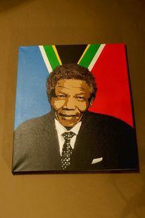 Aerosol, Mandela, Graffiti, Sprühdose