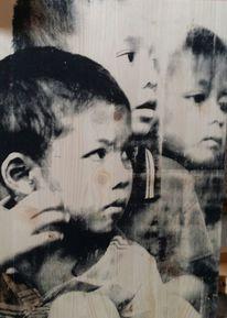 Popart, Portrait, Siebdruck, Nepal