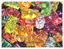Gummi, Gummibärchen, Bears, Gummibären