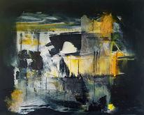 Nebel, Dunkel, Malerei,