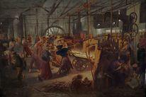 Adolph menzel, Arbeiten, Menschen, Gemälde