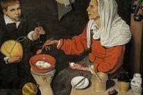 Portrait, Trinken, Ölmalerei, Velasquez