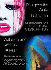 Atelier, Vernissage, Ausstellung, Frankfurt
