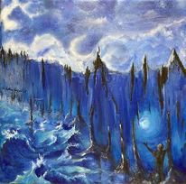 Fantasie, Umwelt, Blau, Fremde