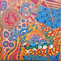 Farben, Erfüllung, Verbundenheit, Decke