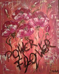 Blumen, Binder, Modern, Farbenfroch