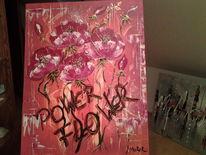 Abstrakt, Malerei, Blumen