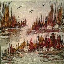 Menschen, Wald, Natur, Farben