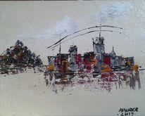 Häuse, Strukturieren, Abstrakt, Acrylmalerei