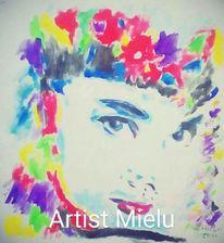 Modern art, Zeitgenössisch kunst, Pop art, Malerei