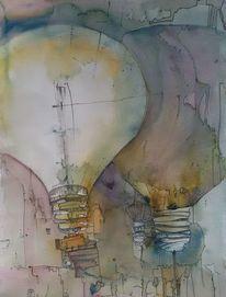 Licht, Leuchtröhre, Glühen, Draht