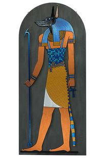 Metall, Ägypten, Anubis, Plastik