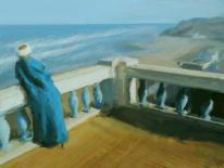 Küste, Meer, See, Digitale kunst