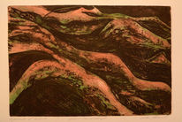 Radierung, Gravur, Kupferplatte, Druckgrafik