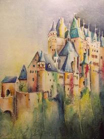 Architektur, Burg eltz, Rheinlandpfalz, Historisches gebäude