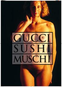 Guccu, Sushi, Muschi, Plakatkunst