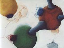 Synap21, Surreal, Acrylmalerei, Abstrakt