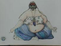 Fantasie, Skuril, Zeichnung, Zeichnungen