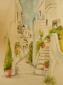 Bunt, Malerei, Sommer, Blumen