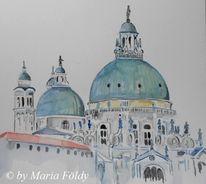 Gebäude, Urlaub, Italine, Venedig