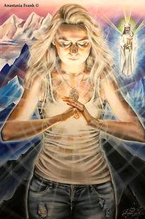 Sacredart, Agniyoga, Licht, Lehrerin