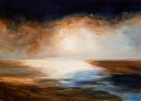 Horizont, Licht, Dunkel, Malerei