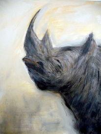 Malerei, Nashorn