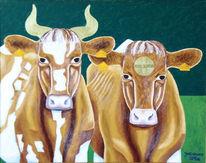 Malerei, Kuh, Symbolismus