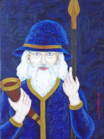 Symbolismus, Germanisch, Odin, Malerei