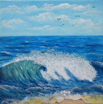 Himmel, Wasser, Wolken, Welle