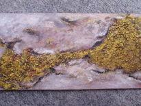 Gold, Sand, Erosion, Struktur