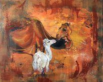 Kamel, Tiere, Jung, Wüste