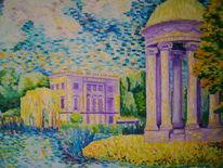 Ölmalerei, Neo, Impressionismus, Markkleeberg