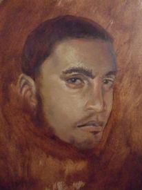 Ölmalerei, Alla prima, Portrait, Malerei
