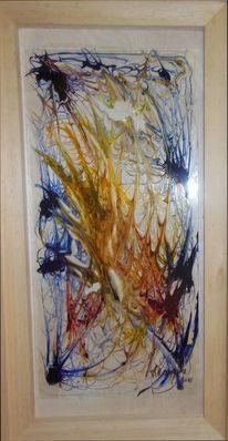 Malerei, Gelb, Blumen, Gogh