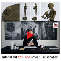 Tutorial, Skulptur, Surreal, Düster