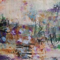 Komposition, Acrylmalerei, Informel, Malerei