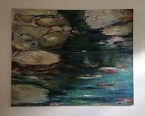 Komposition, Natur, Informel, Malerei