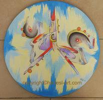 Ölmalerei, Abstrakt, Gefüge, Hadesl