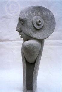 Abstrakt, Kopf, Portrait, Gesicht